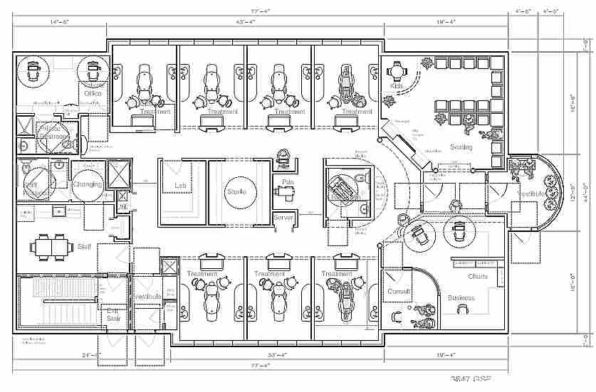 Dental office consulting dental office consultants for Office layout plan design